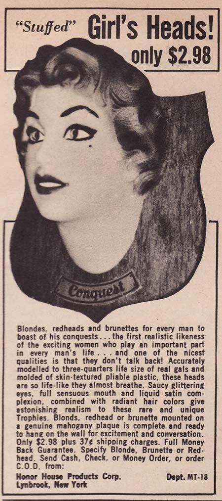 Strange Weird Vintage Products & Ads
