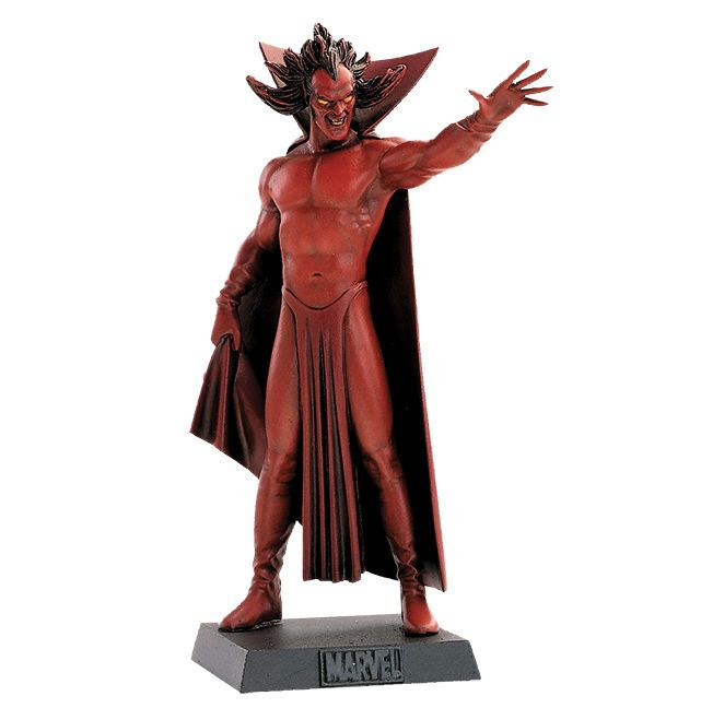 MEPHISTO Lead METAL Figure 24 Marvel EAGLEMOSS Collection MINT BOX No Magazine #EAGLEMOSS