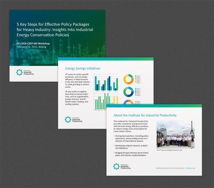 IIP Non-Profit Powerpoint Presentation Design