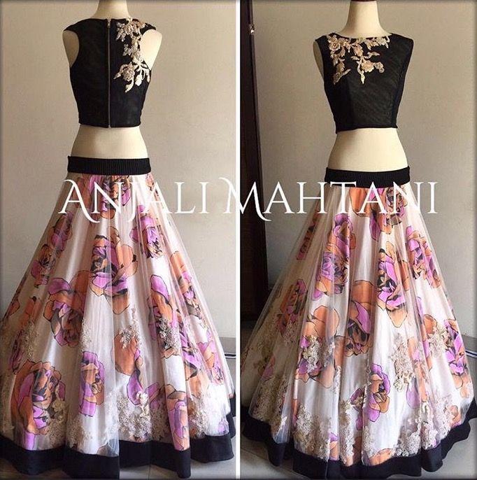 18021d0abb Pinterest: @pawank90 | Lengha | Dresses, Indian designer wear, Indian  dresses