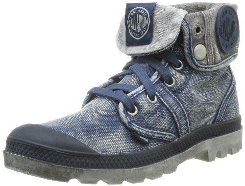 Palladium Us Baggy W F, Damen Sneaker  Blau Bleu (Navy/Metal) 37 - http://uhr.haus/palladium/37-eu-palladium-us-baggy-f-damen-halbstiefel-rosa-5