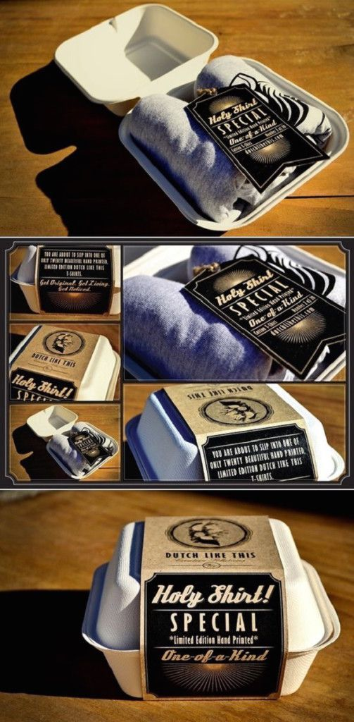Packaging creativo para ropa 2