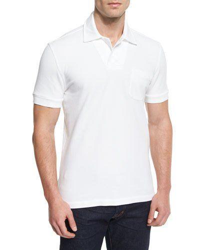 1e34a766ed28d Tom Ford Tennis Pique Polo Shirt   Products   Polo shirt, Polo ...