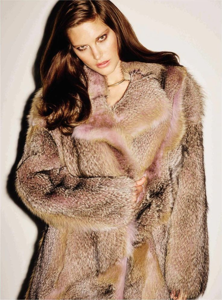 Australian model Catherine McNeil takes on glamorous looks perfect for some party season inspiration in the November 2015 cover story from Vogue Spain. Photographed by Ezra Petronio and styled by Elizabeth Sulcer, the dark-haired beauty tries on luxe furs paired with skin-tight dresses and metallic jackets in the glossy snaps. Akki worked on hair with …
