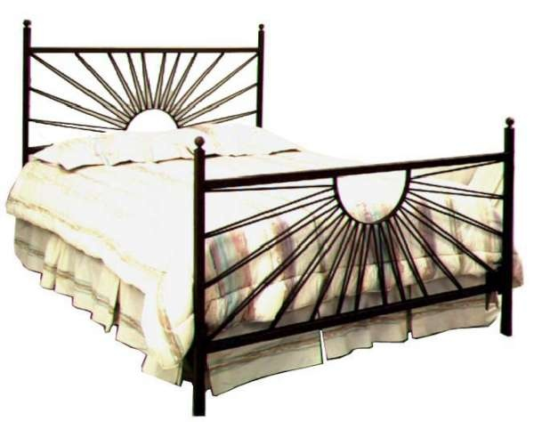 el sol style wrought iron bed frame king size - King Size Iron Bed Frame