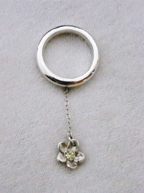 Bail technique and stone setting ring