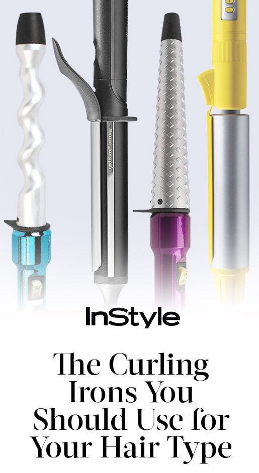 From spiral curls to beachy waves, we've rounded up which irons work best for every hair texture | from InStyle.com