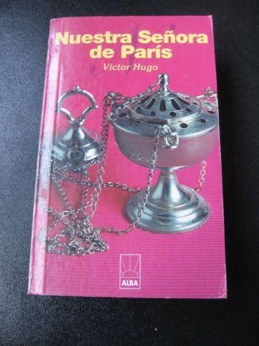 """Victor Hugo """"Nuestra Senora de Paris"""" Paperback Spanish Book Libro en Espanol"""