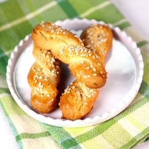 Greek Cookies | Michael Symon | The Chew He said on the show that these are often eaten for breakfast!