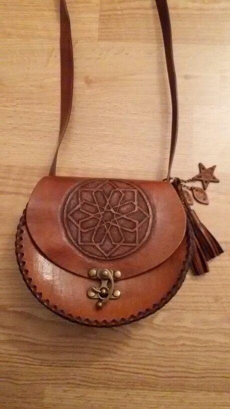 Deri çanta tasarımım - 2