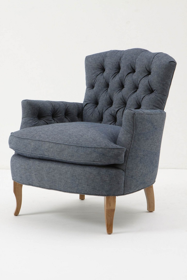 good bones updated: Living Rooms, Anthropology, Book, Blue Chairs, Furniture, Marjorie Chair, Bedroom