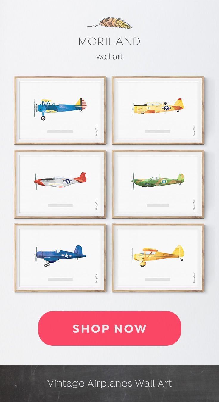Plane Print Fighter Aircraft Art Airplane Print Airplane Wall Art Vintage Airplane Print Kids Room Plane Art Printable Decor With Images Vintage Airplane Nursery Vintage Airplane Wall Art Airplane Wall Art