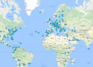 This map shows the Wi=Fi passwords for around the world.