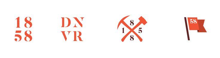 Secondary logo designs for Sons of 1858 craft beer branding by Vigor http://vigorbranding.com/portfolio/sons-of-1858-craft-beer-branding/
