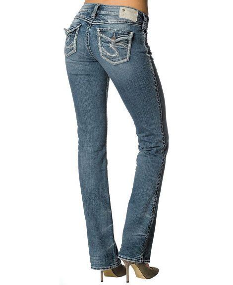 Silver Jeans - Suki Flap Bootcut Jeans