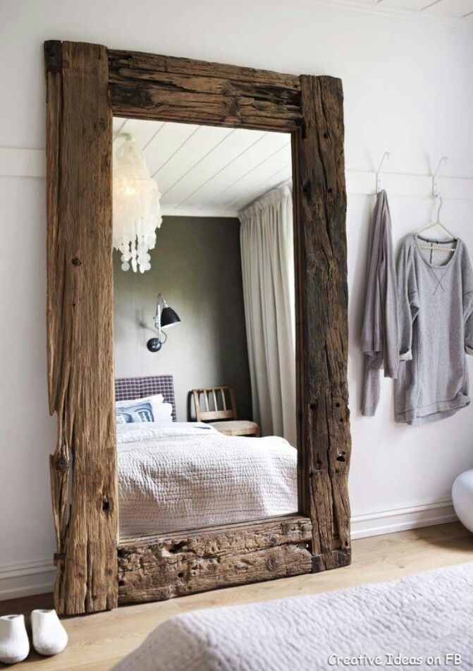 actually obsessed with this over-sized statement mirror