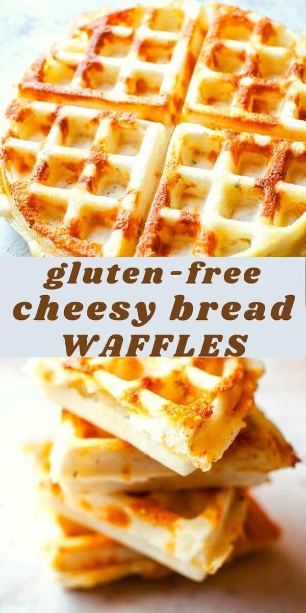 Savory Gluten Free Cheesy Bread Waffles Recipe Gluten Free Recipes For Breakfast Gluten Free Waffles Savory Waffles