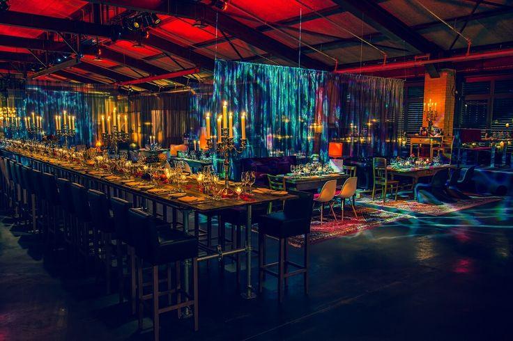 A mysterious urban Venue : Rauschenberger's Supper Club a pop-up club by Andreas Rauschenberger and Decor&More, Birgit Martinez in #Fellbach ##supperclub #popupstore #food https://www.facebook.com/bestpopupstores