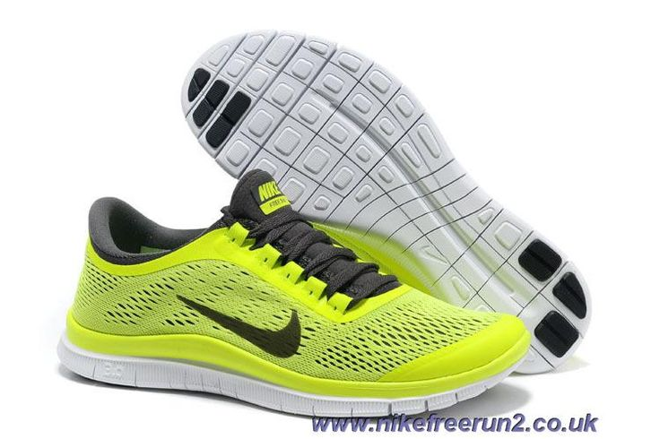 Nike Free 3.0 V5 580393-701 Men s Mens Volt Dark Grey White Shoes Online