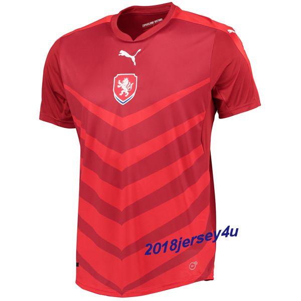 czech republic national team 2016 euro home red soccer jersey kit shirt  shorts