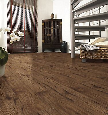 This European made laminate flooring has an E1 HDF core for healthier homes and is Greenguard air quality certified. The wood used in the core of the product is harvested from PEFC certified forests. The product is 12mm thick has an AC4 melamine wear layer impregnated with Aluminum Oxide for added resistance against wear.Offers Kaindls 35 year residential / 5 year triple warranty against staining, fade and wear. This Product Contains 16.53 Sq.Ft./Case