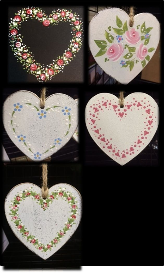 """Learn how to paint kits. New """"Folk It"""" kits make a great gift for Mother's Day."""