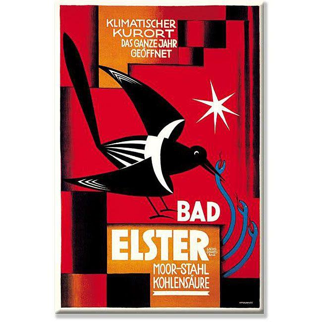 Lange 'Klimatischer Kurort - Bad Elster' Gallery-wrapped Art