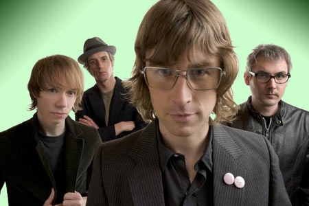 Sloan. Canadian music legends in their own time. Best active band in the world.