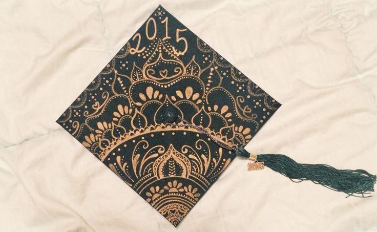 Graduation Cap Mandala Art Pinterest Mandalas
