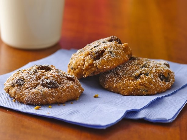 Pumpkin-Chocolate Chip Cookies (Gluten Free with coconut milk, Earth Balance Margarine sticks . . . all organic ingredients, gluten free, and sugar free we did not use or need sweetener!