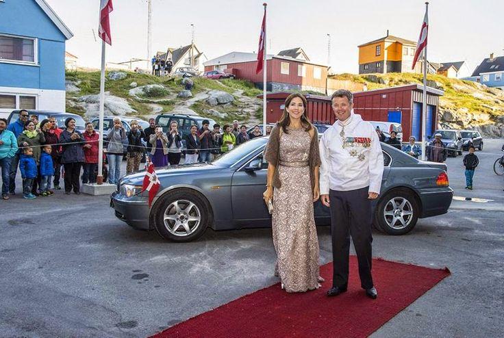 Reines & Princesses: Visite officielle au Groenland - Dîner officiel à ...