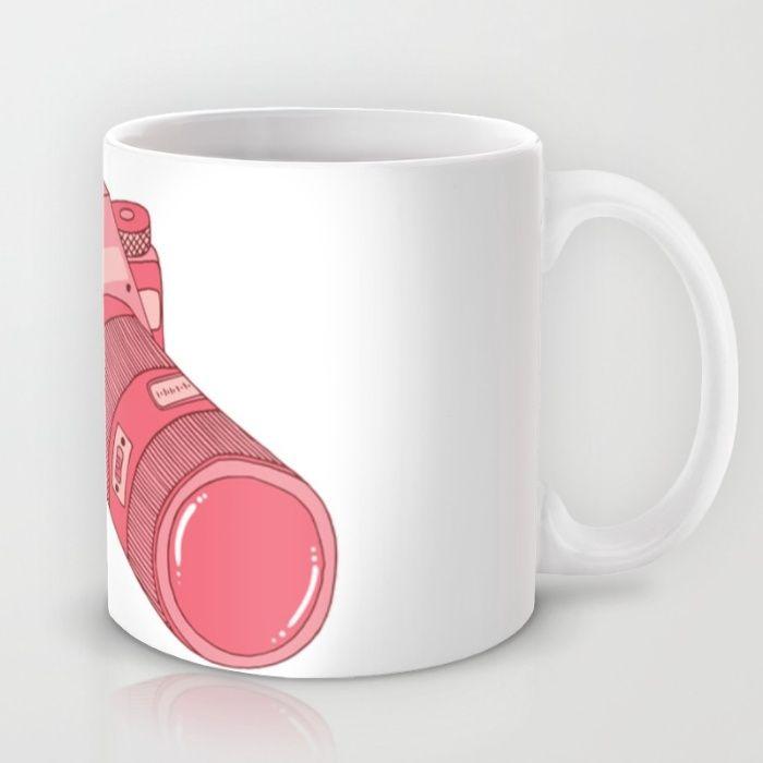 The Pink Camera Mug