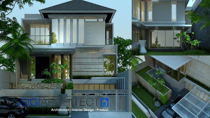 desain rumah mewah 3 lantai 1