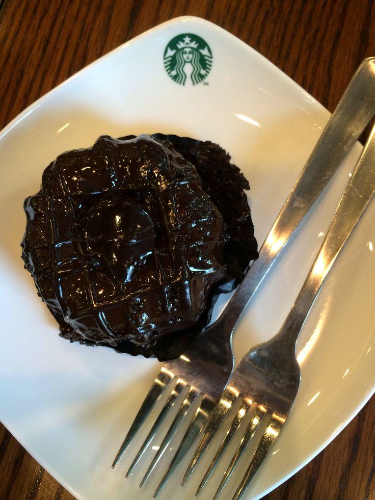 Death By Chocolate - Starbucks Molten Lava Cake