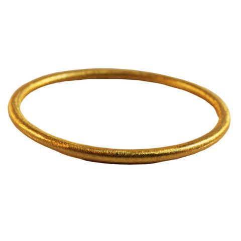GOLD BRUSHED BANGLE | Buy So Pretty Jewelry online