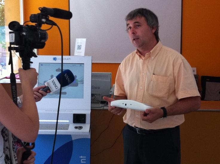 Entrevista en La Vanguardia TV