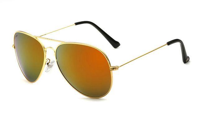 2016 New VEITHDIA Brand Designer Polarized Men Women Sunglasses Vintage Fashion Driver Sun Glasses gafas oculos de sol masculino  Goldorange