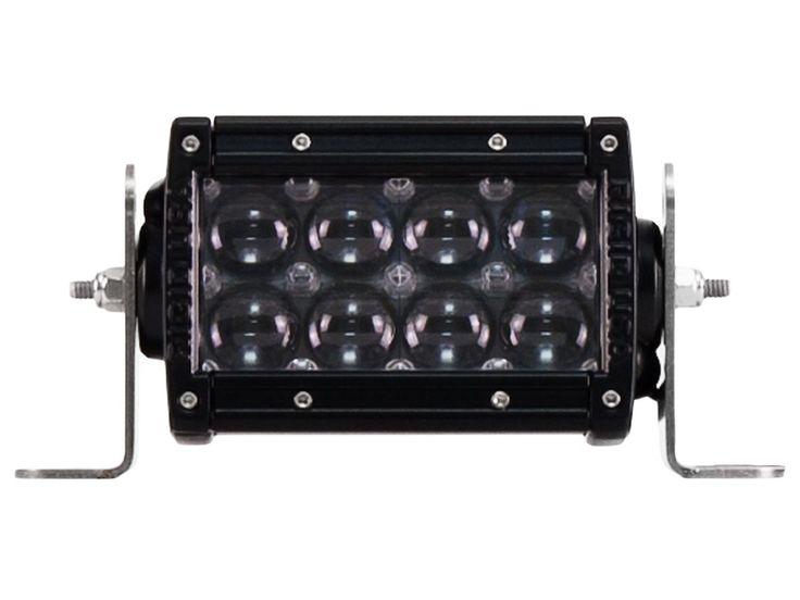 "Rigid Industries 17371 E2-Series LED Light Bar 4"" Hyperspot 40 Watts 8 White"