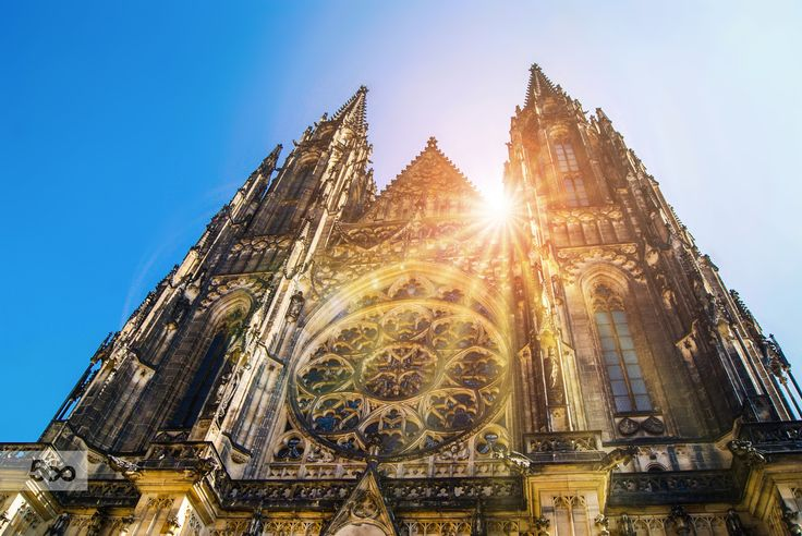 St. Vitus Cathedral, a sunny day in Prague by Beatrice  on 500px