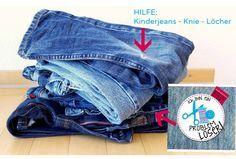 Jeans Löcher Kinderjeans Flicken