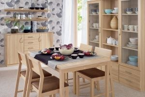 KLIO BRW Dining room furniture set. Elements of the collection available in two colours: tatra beech and wenge. It is an economical solution for those who want to decorate their interiors interesting and inexpensively. Polish BRW Modern Furniture Store in London, United Kingdom #furniture #polish #brw #diningroom