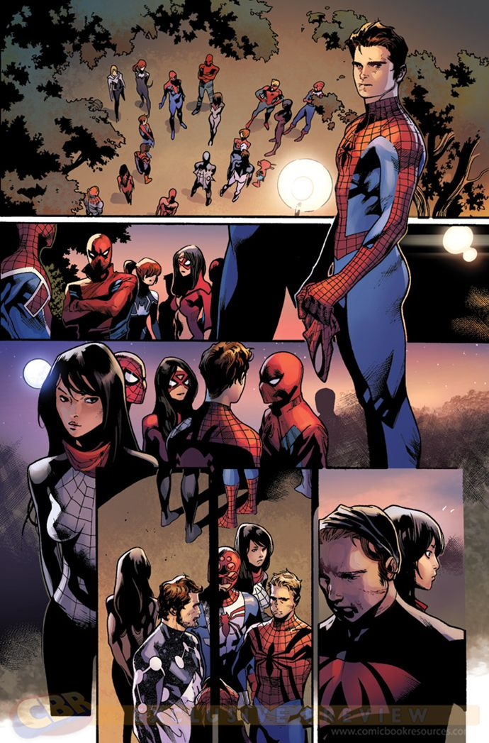 "Images for : SPIDER-MANDATE: Unlocking the First ""Spider-Verse"" Issue - Comic Book Resources"