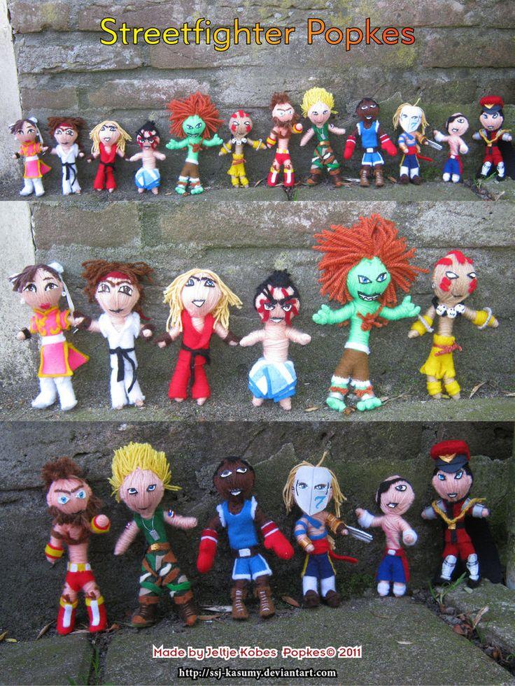 Street Fighter II Popkes
