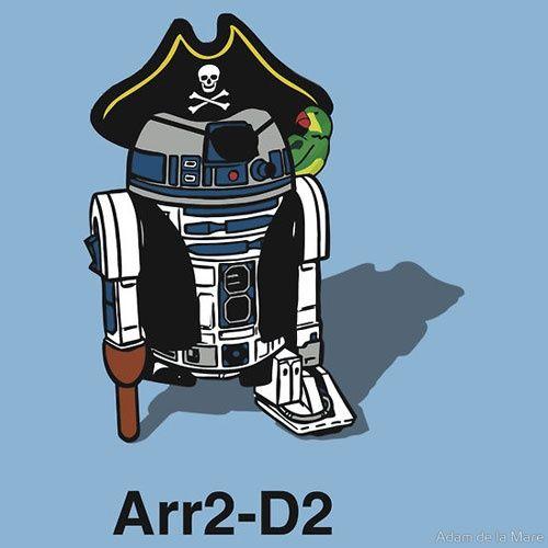 R2D2 Pirate!!