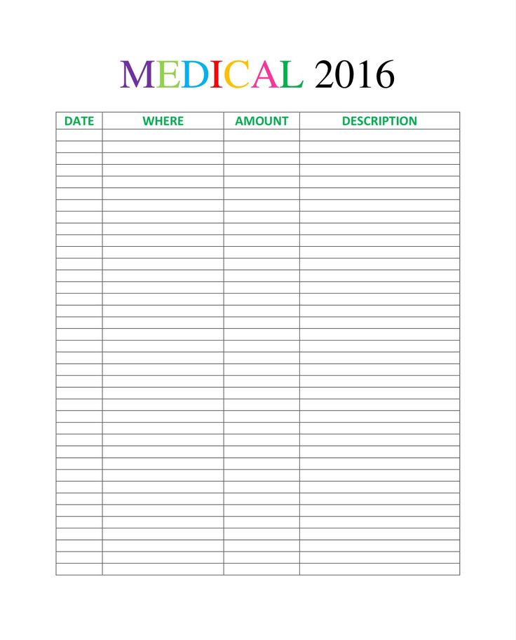 Best 25+ Medication log ideas on Pinterest Medication list - how to create call log template