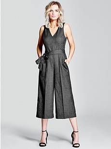 Newton Plunge Jumpsuit | GUESS by Marciano