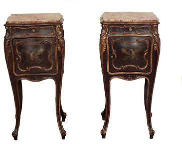 Antique Louis XV Style Night Stands