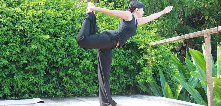 Yoga Class at Jeeva Klui Resort