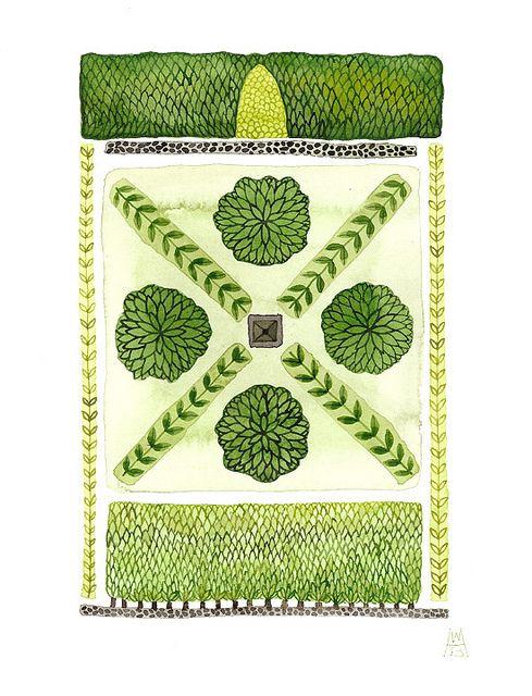 34 best herb knot garden images on pinterest backyard for Herb knot garden designs