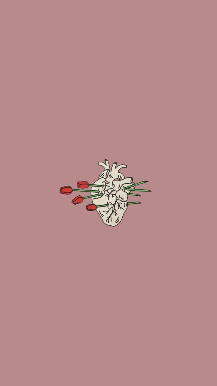 Coração estampa Tumblr desenho Amar é ... Não aplicar definição ou simplesmente não o saber.